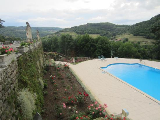 Chateau d'Urbilhac: Pool