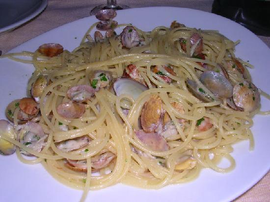 Il Gambero: spaghetti alle arselle
