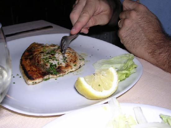 Il Gambero: pesce spada alla griglia