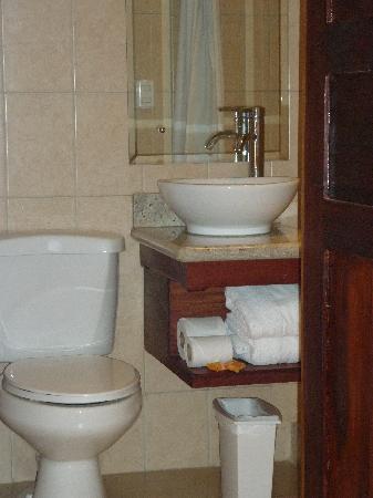 Hotel El Bramadero: Bano