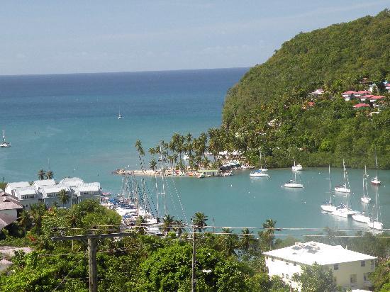 Pitons : Marigot Bay