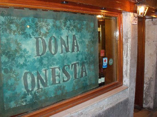 Dona Honesta: ristorante