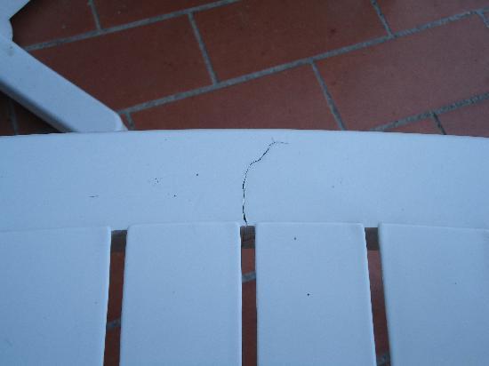 H·TOP Palm Beach & SPA: silla rota
