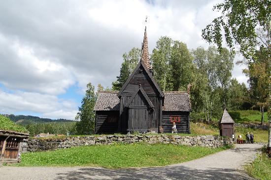 Maihaugen Open-Air Museum: The church