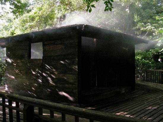 Playas del Coco, Kosta Rika: (Volcanic) Sauna