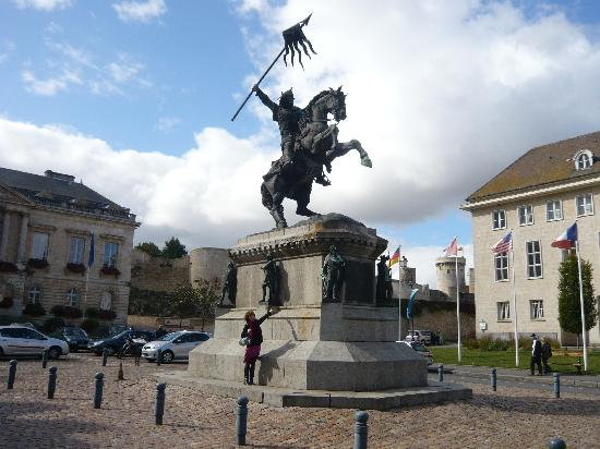 La Carneille, France: Falaise