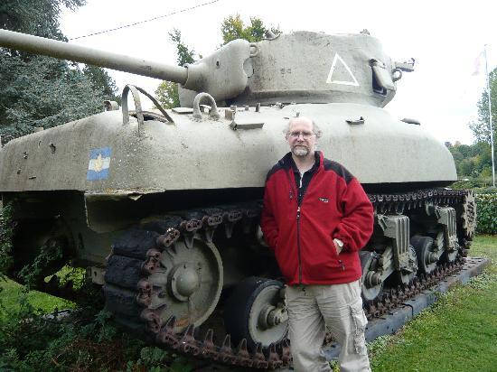 La Carneille, France: Tank museum Falaise