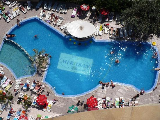 smartline Meridian Hotel: pool view from the top