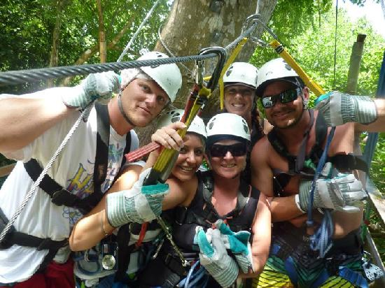 Know Jamaica Tours: Zip Lining
