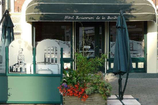 Hotel de la Basilique: Outside terrace