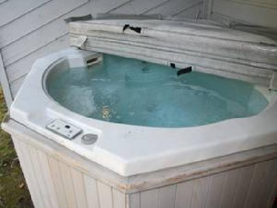 Trail Creek Condos: Trail Creek private hot tub