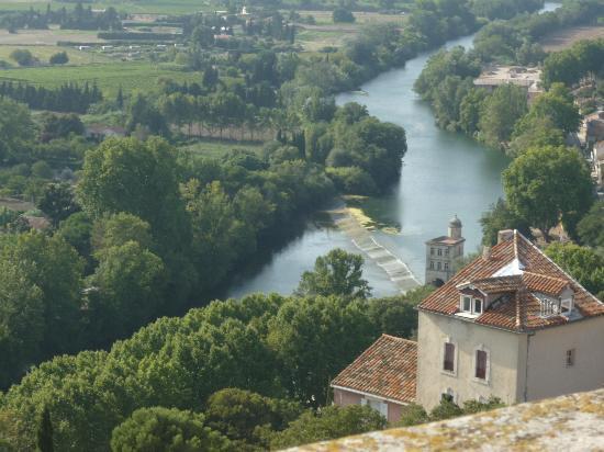 Beziers, Frankrike: Vista desde arriba de la Catedral
