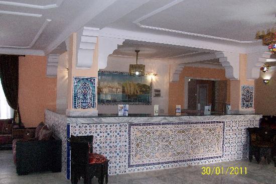 Hotel Residence Pomaria: la réception