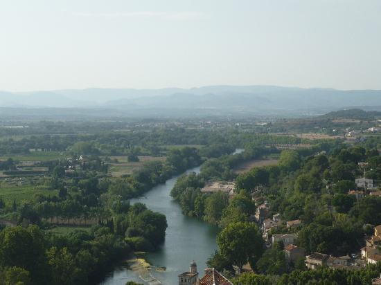 Beziers, Frankrike: Vista desde ariba de la catedal