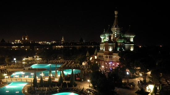 PGS Hotels Kremlin Palace : nightime view