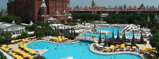 PGS Hotels Kremlin Palace : Pool view not showing kids pool and slides