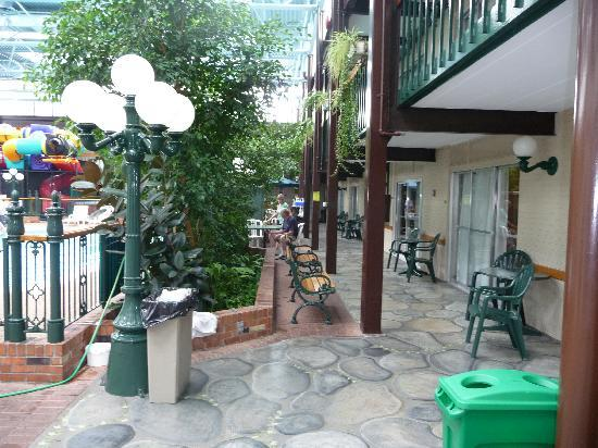 BEST WESTERN PLUS Cairn Croft Hotel: Loved the area outside the first floor rooms