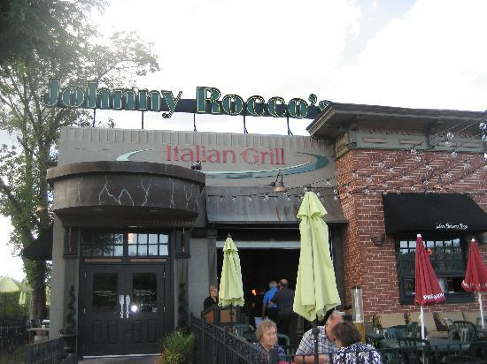 Johnny Rocco's Italian Grill: Outside of the restaurant