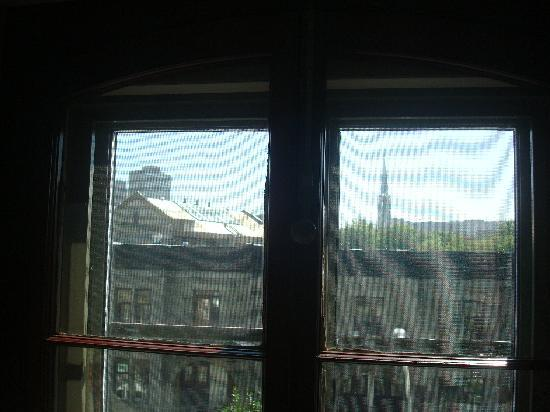 Victorian Heritage: View from the window in the Attic Room