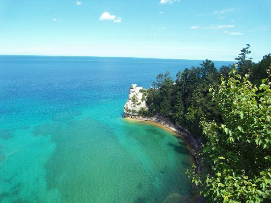 Pictured Rocks National Lakeshore : Miner's Castle