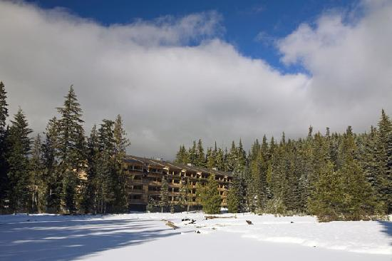 The Grand Lodges: North Lodge Winter View