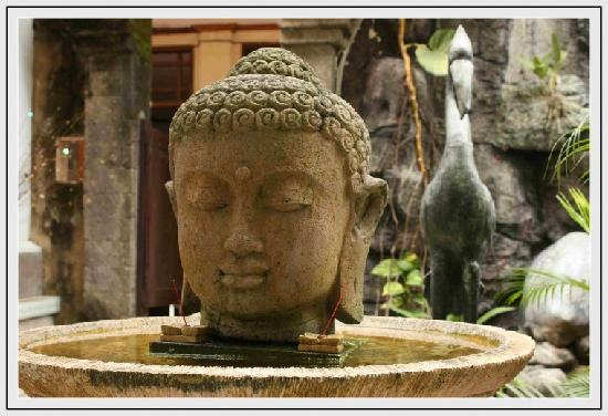 Puri Dukuh Accommodation : Guest Photo - Buddha Pond