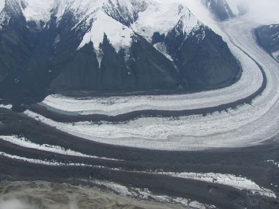 Talkeetna Aero Services: Glacier near McKinley
