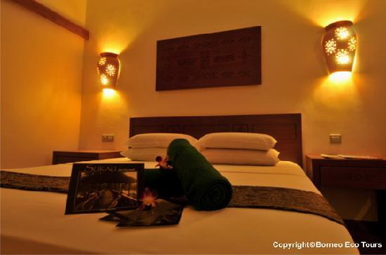 Sukau Rainforest Lodge: Double Room - Renovated in 2010