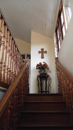 Posada San Jose: Gradas hacia habitaciones