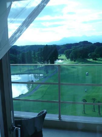 Island Hotel & Resort Nasu: 客室からの眺め