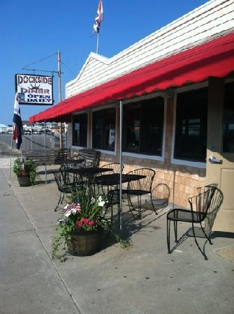 Long Beach Township, NJ: Dockside Diner!!!!!!!!! Awesome!!!! new look, same great food!