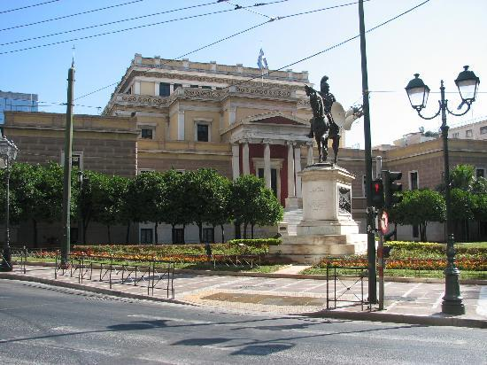 National History Museum (Old Parliament) : The Old Parliament Athens 1