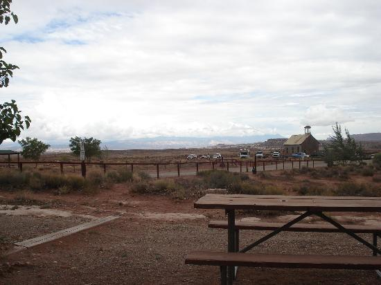 Archview RV Resort & Campground: view from the cabin at Arch View Resort