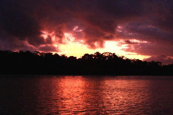 Sunset on the Daintree