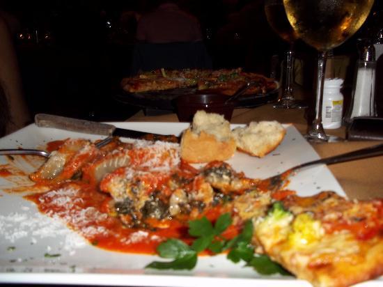 Tramonti : Our pasta dinner