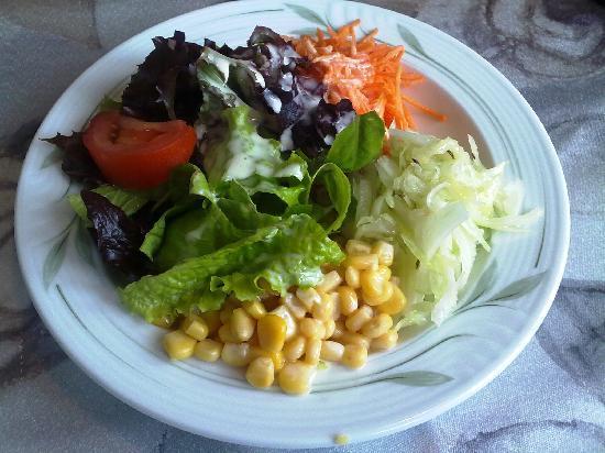 Cafe Seeblick: Gemischter Salat