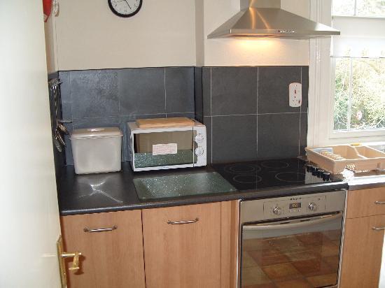 Parterre Holiday Apartments: kitchen Apt 7