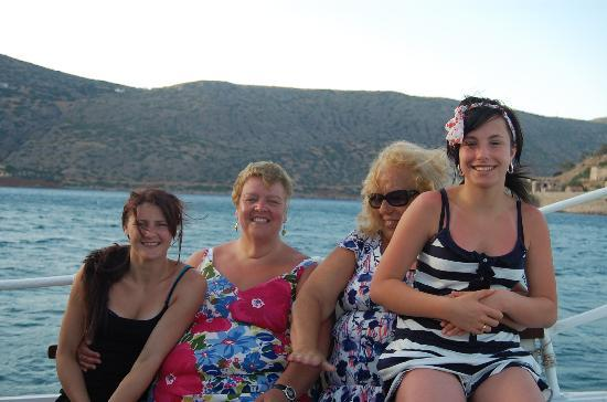 Corali Studios & Portobello Apartments: July Birthday boat(Margarita) trip to Spinalongha