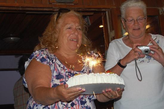 Corali Studios & Portobello Apartments : Annabelles birthday celebration on the Margarita