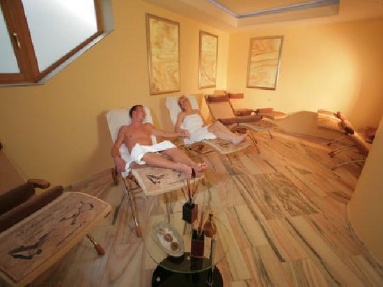 Wellness-und Landhotel Prinz: Kristallmarmor-Ruheraum