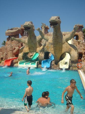 Kamelya Selin Hotel: superbe parc aquatique