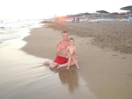 Kamelya Selin Hotel: plage magnifique et propre