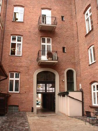Hotel Maksymilian: Hotel Court Yard