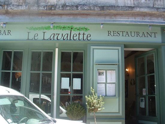 Le Lavalette: The restauant