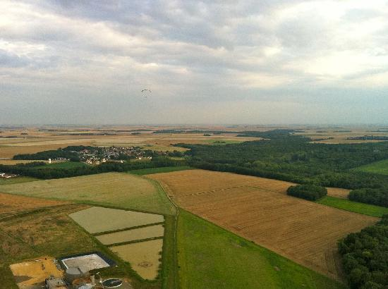 Le Moulin de Lonceux : View from the hot air balloon