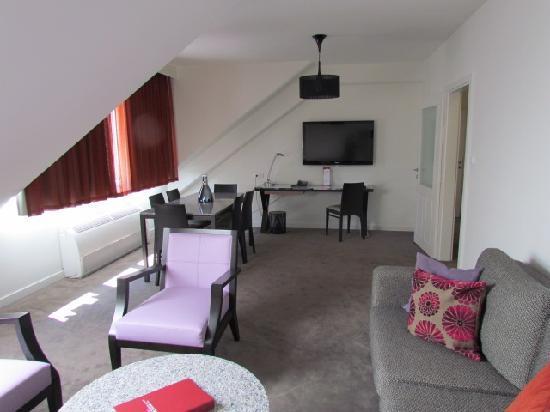 Adina Apartment Hotel Budapest: Lounge
