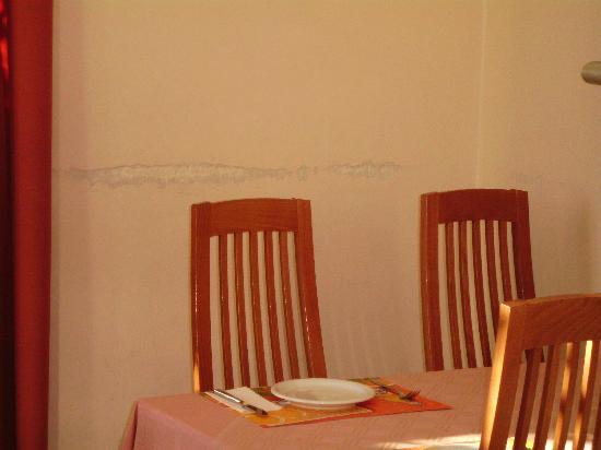 Hotel Edelweiss: Frühstücksraum ist auch nicht ansprechend