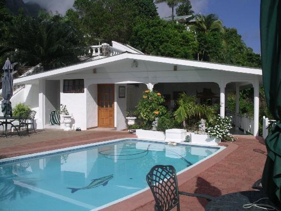 Le Sans Souci Guesthouse: Le Sans Souci - La piscine