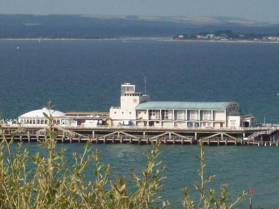 Ocean Beach Hotel and Spa: Brilliant views of Pier and across to Studland