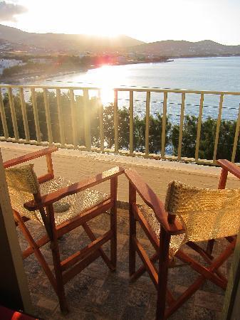 Agali Bay Hotel: my balcony